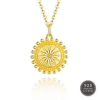 Halskette Golden Sun
