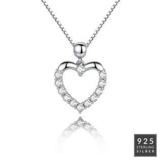 Halskette Silver Heart