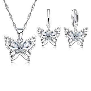 Schmuck-Set Icy Butterfly